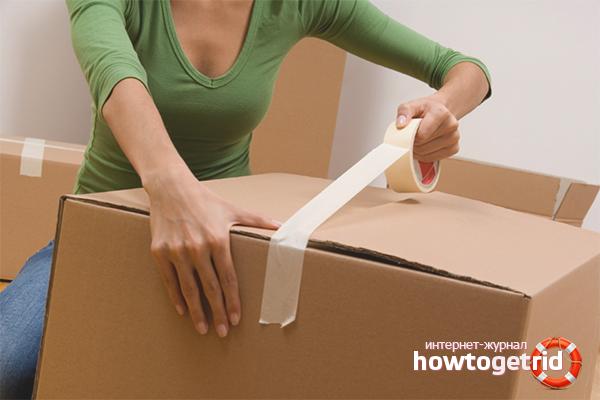 Как упаковать вещи при переезде