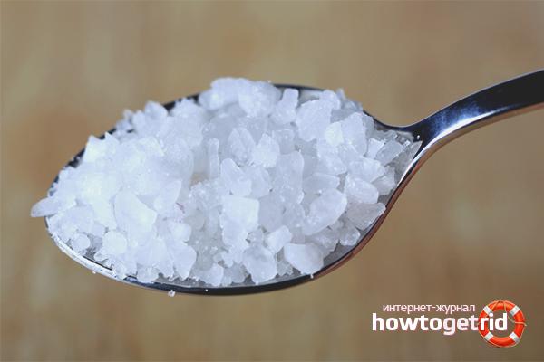 Поваренная соль от запаха в термосе