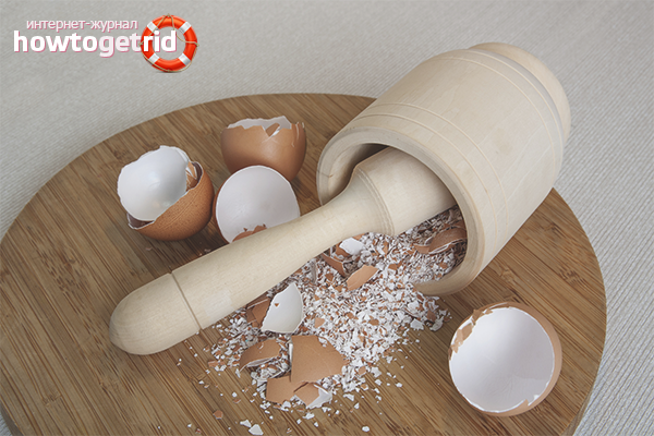 Правила приготовления яичной скорлупы