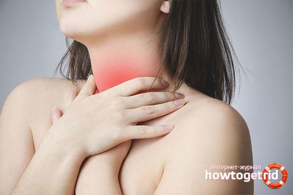 Боль в горле и температура