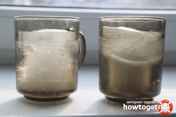 Холодный способ смягчить воду