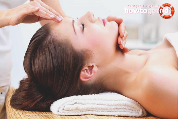 Как подтянуть кожу лица с помощью массажа