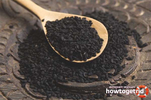 Лечение псориаза маслом черного тмина
