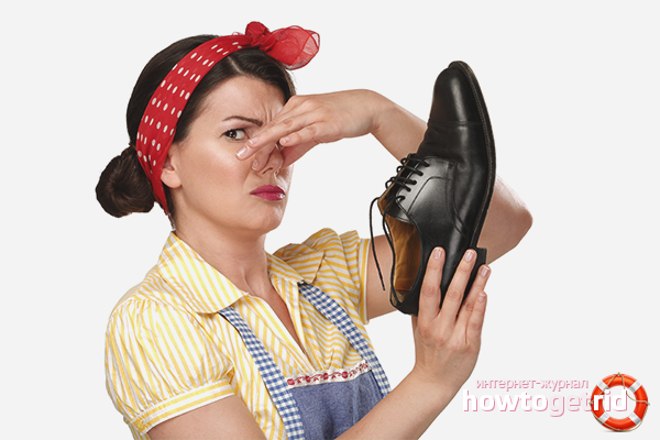Методы избавления от неприятного запаха из обуви
