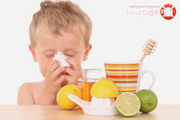 Народные средства против детского насморка