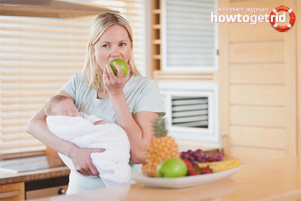 Советы по питанию после родов