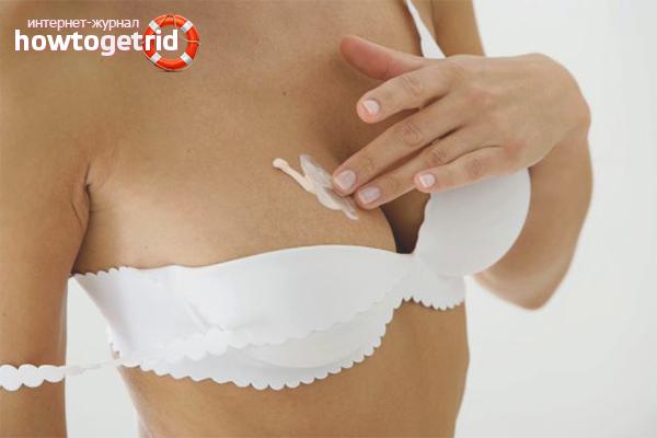 Уход за грудью после родов
