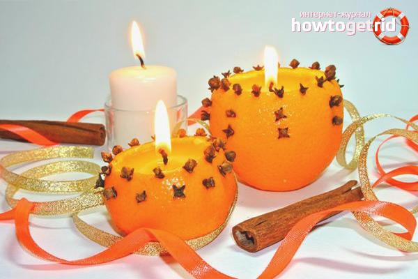 Интересные идеи для изготовления свечей