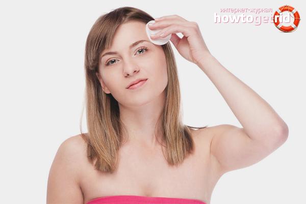 Как почистить лицо от чёрных точек
