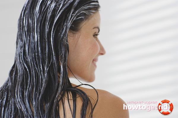 Как увлажнить волосы