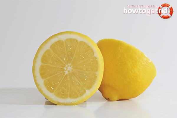 Лимон для отбеливания носков