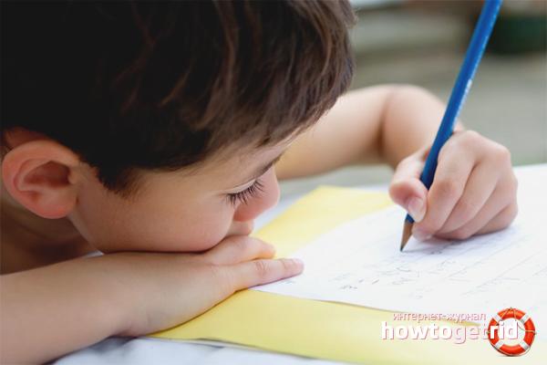Причины плохого почерка
