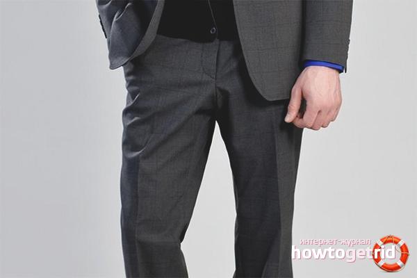 Секреты глажки брюк