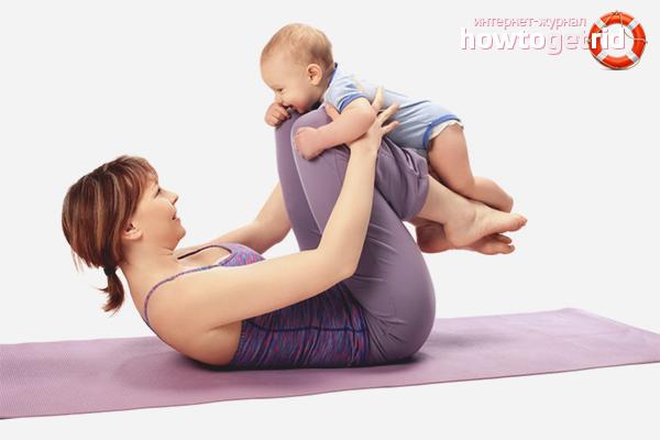 Упражнения для тела после родов