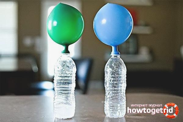 Как надуть шарики гелием