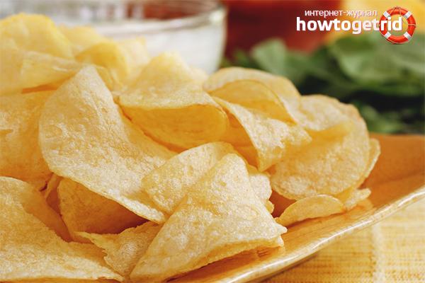 Как приготовить чипсы