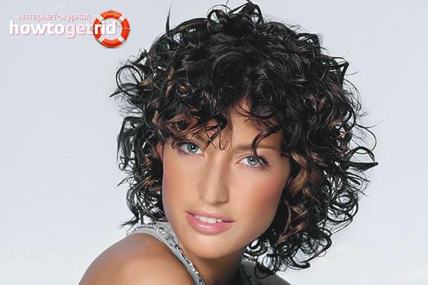 Как сделать «мокрый» эффект на короткие волосы