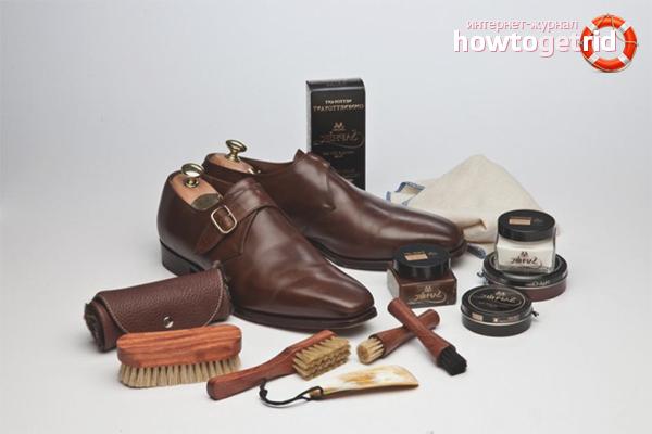 Как ухаживать за лакированной обувью