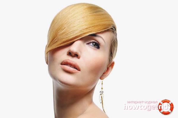 Как уложить волосы средней длины с помощью воска