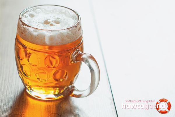Рецепт домашнего пива без солода