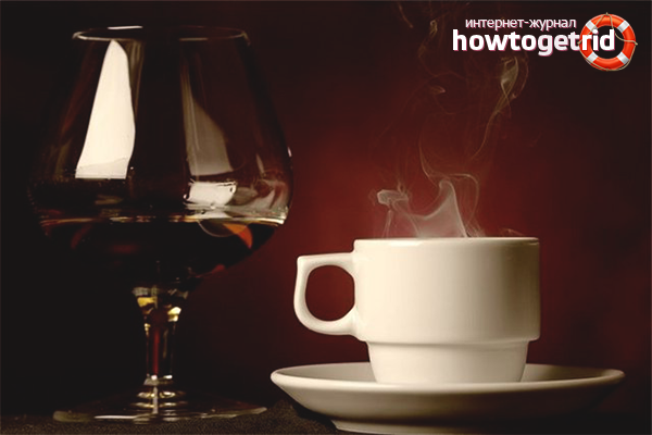 Сочетание коньяка с кофе
