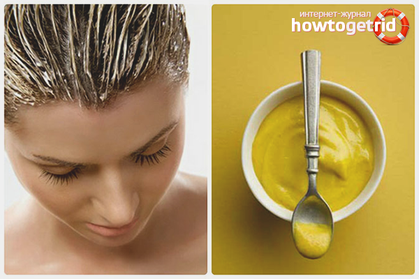 Горчица против выпадения волос