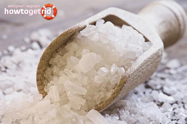 Как отмыть кухонный гарнитур от жира солью