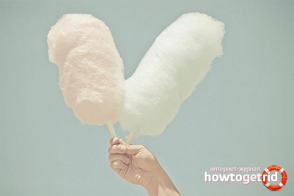 Как сделать сахарную вату