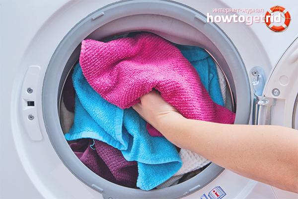 Как стирать бельё из разных типов ткани