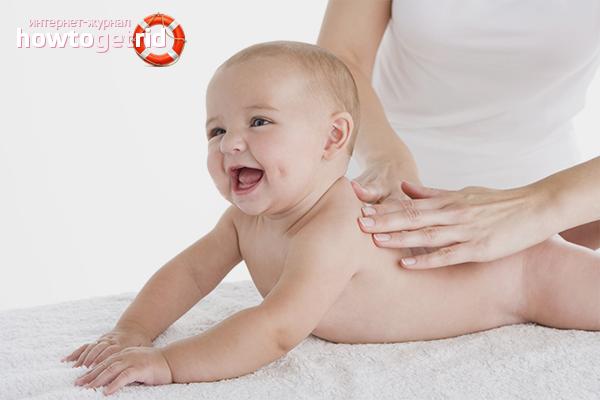 Как укрепить мышцы ребенка с помощью массажа