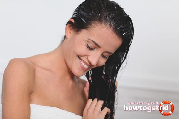 Маски от электризации волос