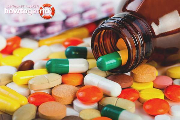 Медикаментозные препараты от заед