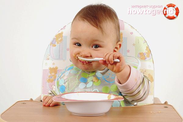 Правильная консистенция еды для детей
