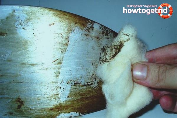 Как почистить утюг перекисью водорода