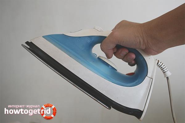 Как почистить утюг с тефлоновым покрытием
