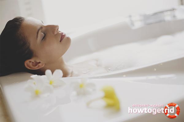 Как принимать ванну с морской солью для похудения