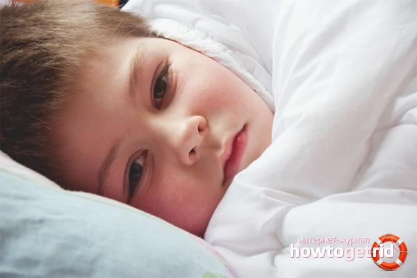 Как промыть желудок ребенку