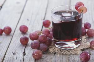Как сделать сок из винограда