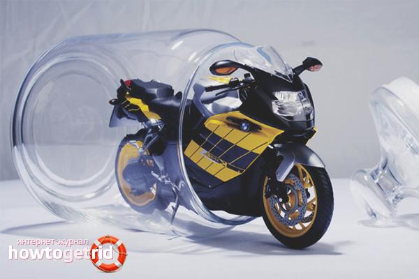 Консервация двигателя мотоцикла