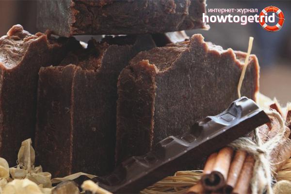 Медовое мыло с шоколадом