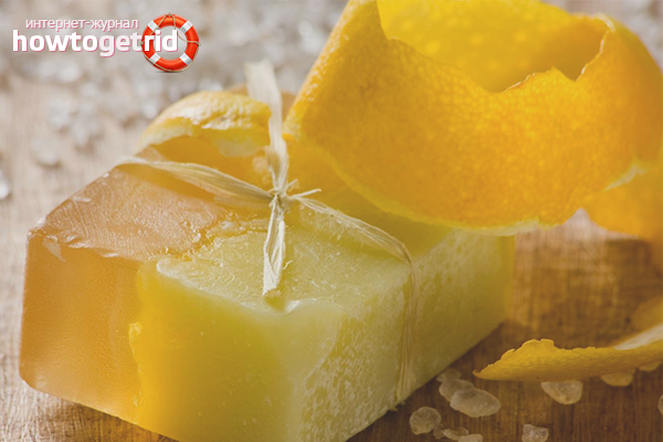 Очищающее мыло с лимоном