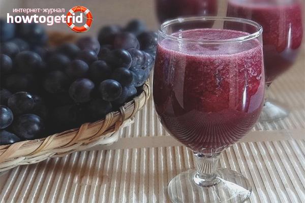 Виноградный сок ручного отжима