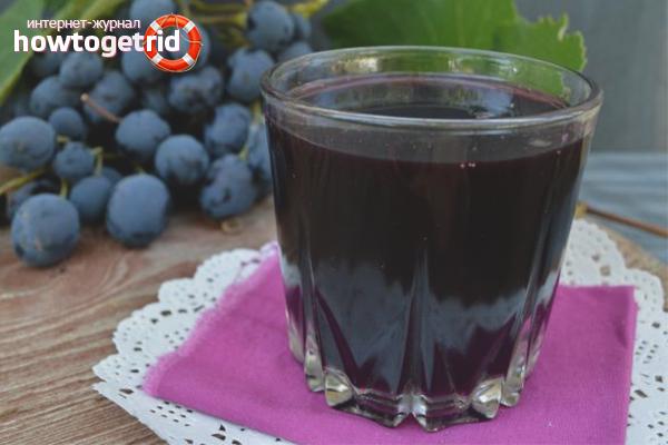 Виноградный сок в соковарке