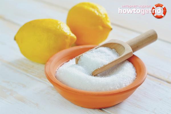 Как отбелить медицинский халат лимонной кислотой