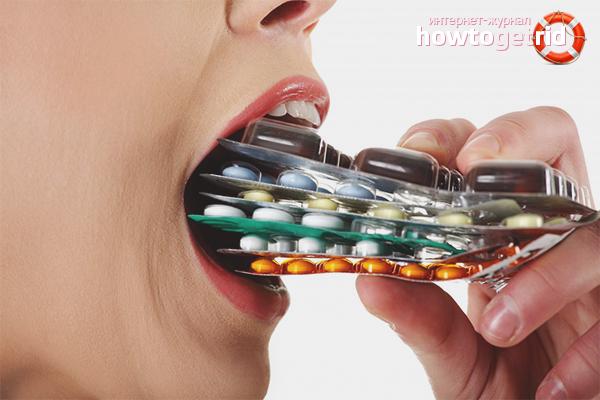 Как принимать антибиотики