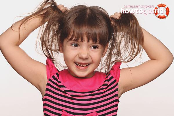 Как укрепить волосы ребенку