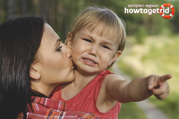 Как успокоить плачущего ребенка от 2 лет