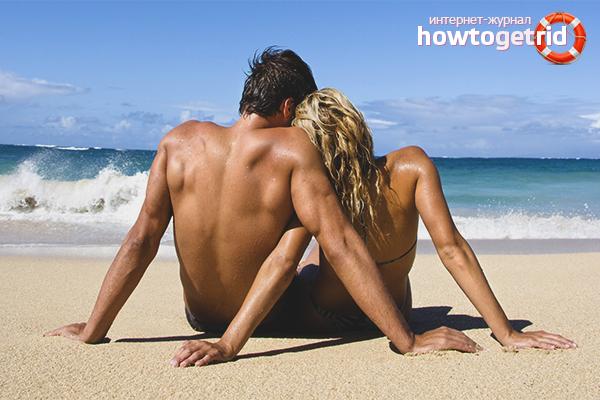 Мужчина и женщина в отпуске