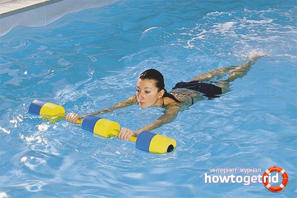 Тактика плавания в бассейне для похудения
