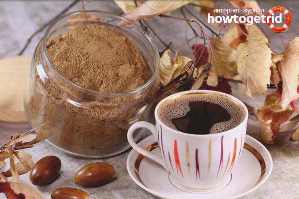Желудевый кофе от диареи